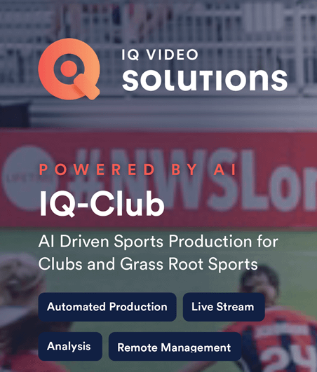 Press Release; IQ Video Solutions launches new entry level AI platform for capturing live sports