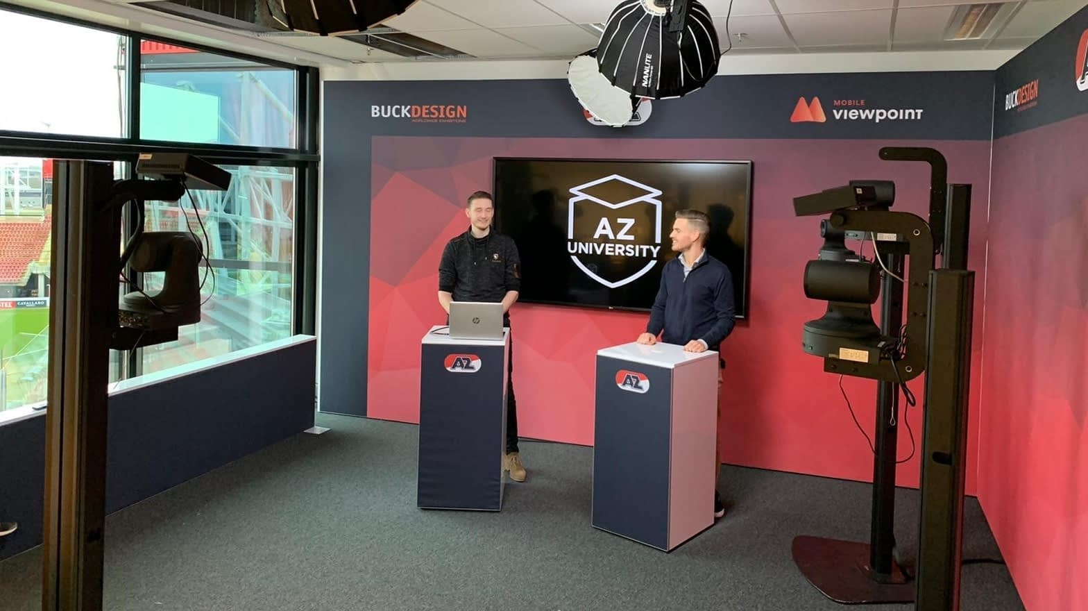 Webinar 28 January 2021;  how to built an AI driven studio for one of Netherlands top football clubs.
