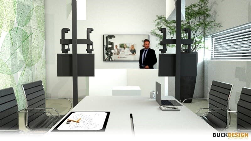 Press Release: Mobile Viewpoint and BuckDesign Implement AV Partnership for Corporates